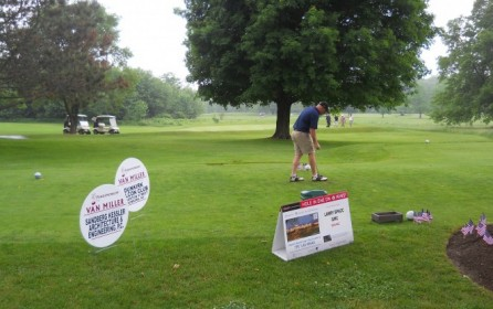 SANDBERG KESSLER PARTICIPATES IN VAN MILLER GOLF TOURNAMENT